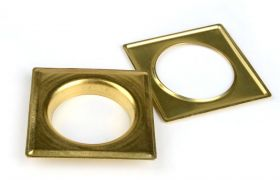SQUARE DECORING SQUARE 40 MM Brass