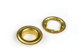 ROUND DECORING 25 MM Brass