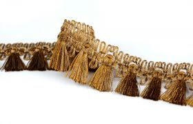 FRĘDZLE METAL DECORATIVE FRINGE 383020 013