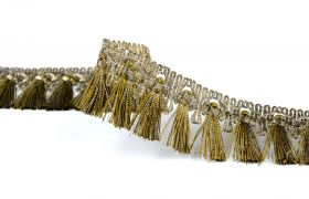 FRĘDZLE METAL DECORATIVE FRINGE 383020 012