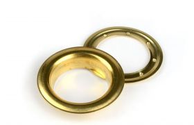 ROUND DECORING 40 MM Brass
