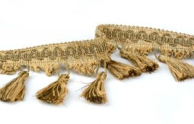 FRĘDZLE METAL DECORATIVE FRINGE 383010 011