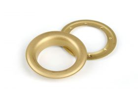 ROUND DECORING 40 MM Satin Gold