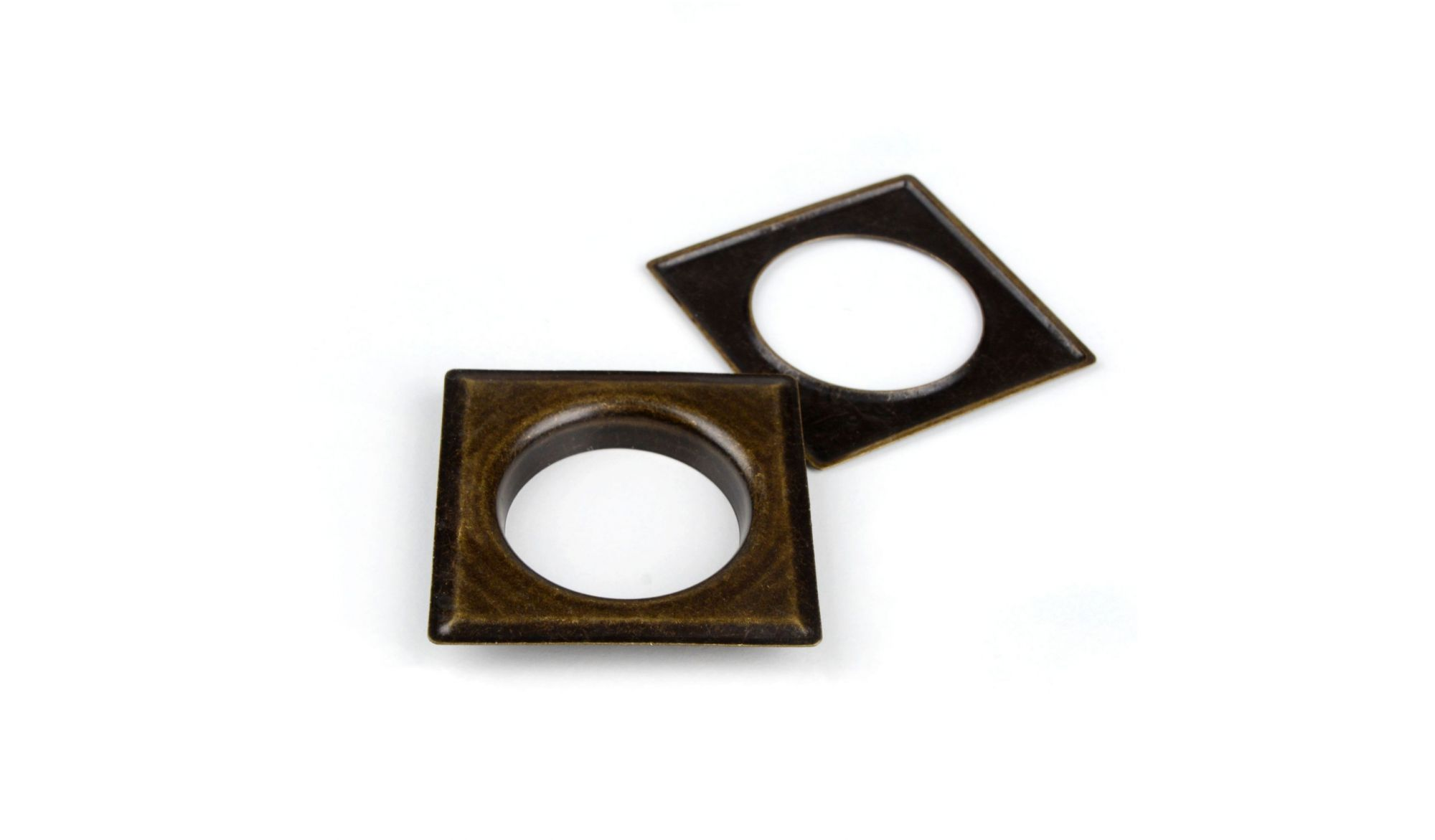 DECORING SQUARE 40 MM Antique Gold - eyelets alt_dekoringi_kolor_antique gold - Colour
