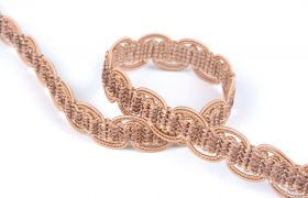 TAŚMY BAROQUE BRAIDED TAPE AG.387E Butternut