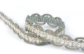 TAŚMY BAROQUE BRAIDED TAPE AG.387E Mineral