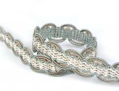 BRAIDED TAPE AG.387E Mineral - Trimmings alt_pasmanteria_kolor_mineral decorative Upholstery - Colour
